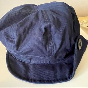 Beret style fabric hat